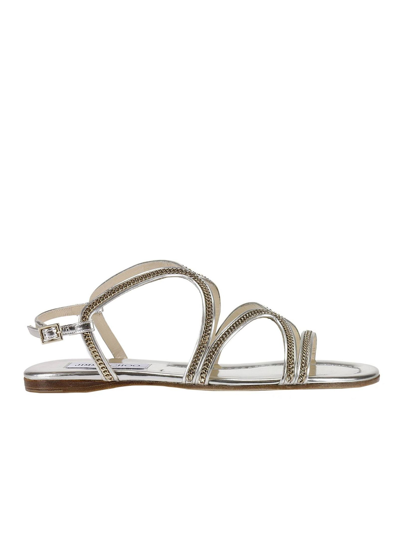 Flat Sandals Shoes Women Jimmy Choo