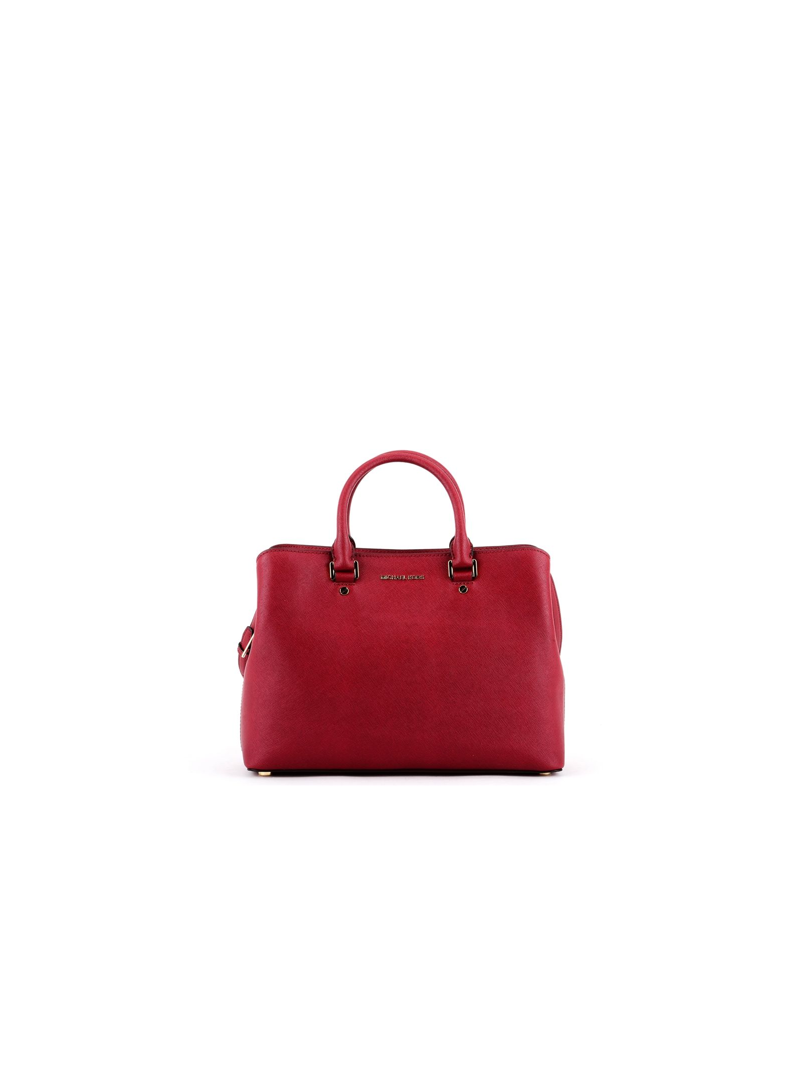 michael kors female cherry savannah large satchel