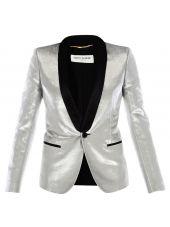 Silver Tuxedo Jacket