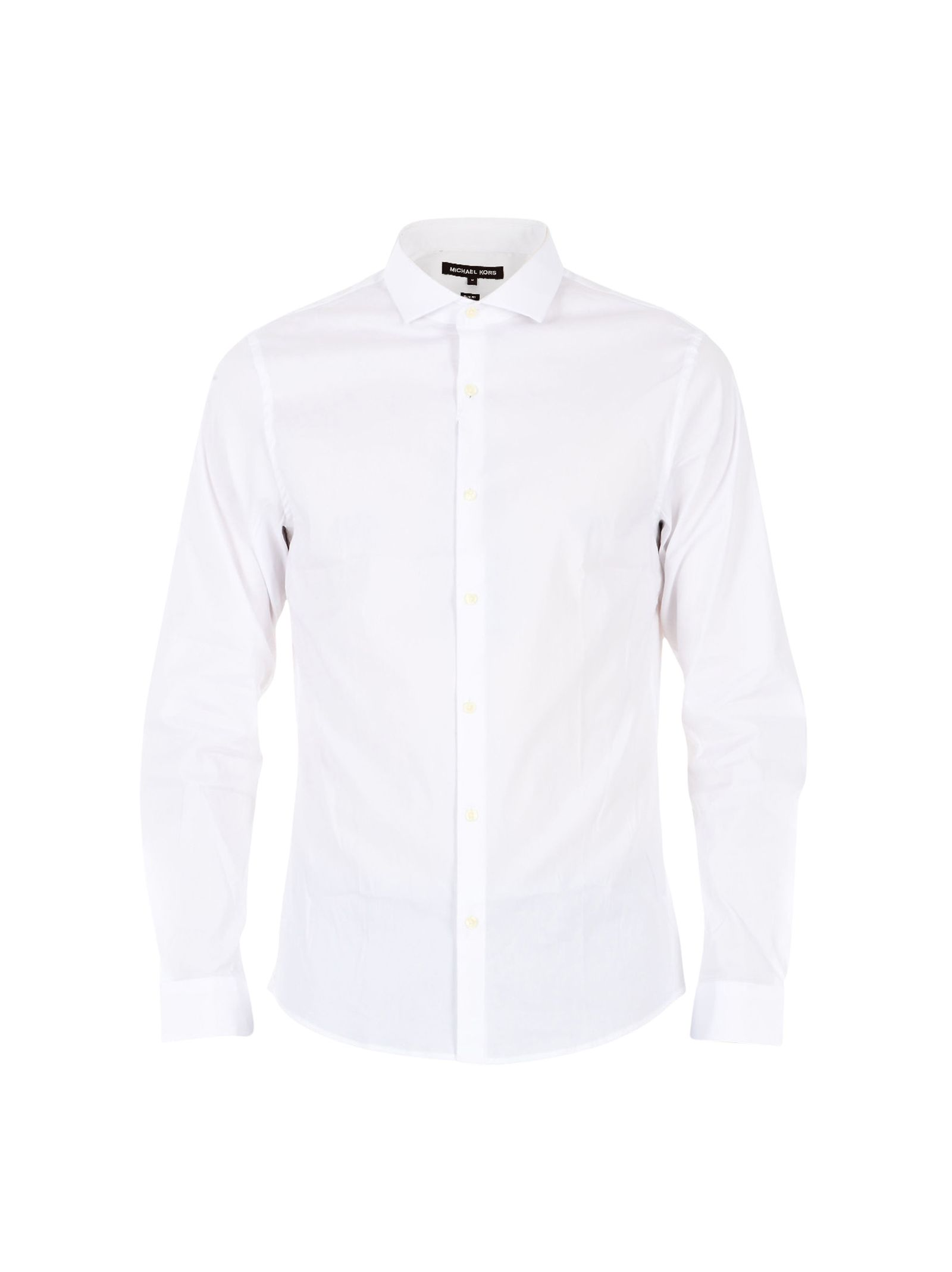 michael kors male white classic shirt