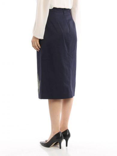 STELLA MCCARTNEY Stella Mccartney Compact Cotton Skirt