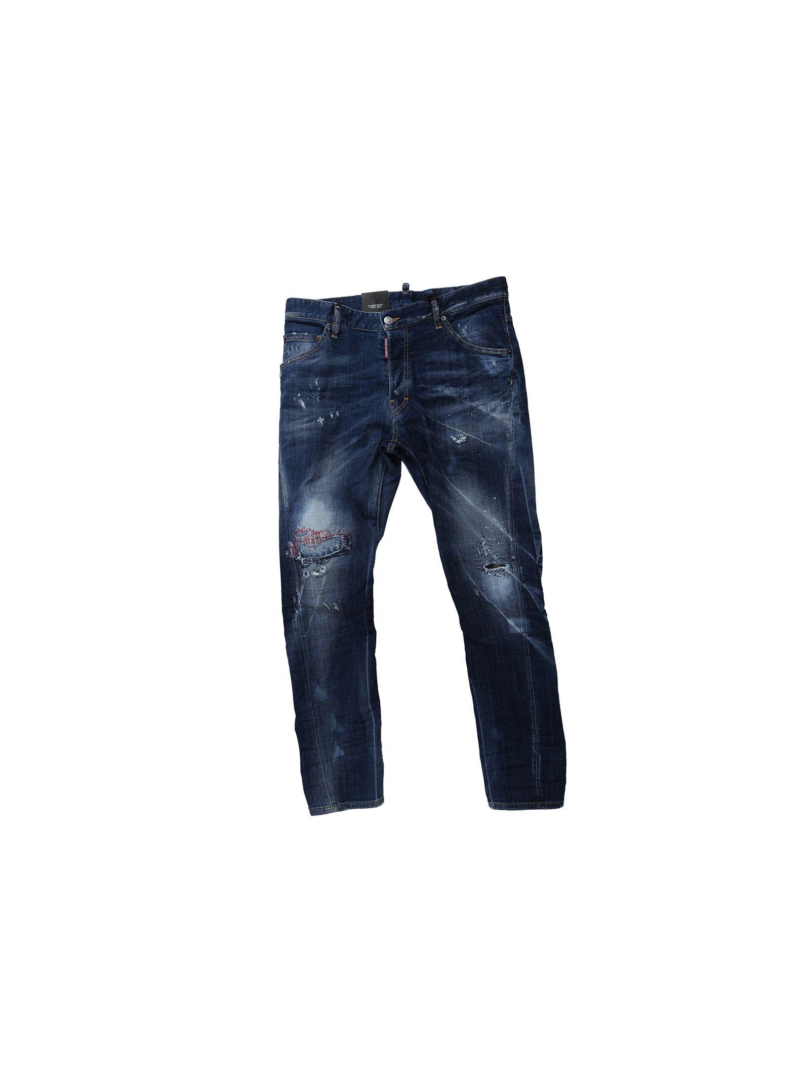 Washed Blue Denim Kenny Twist Jeans