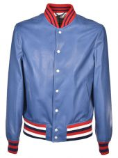 Gucci Striped Collar Bomber