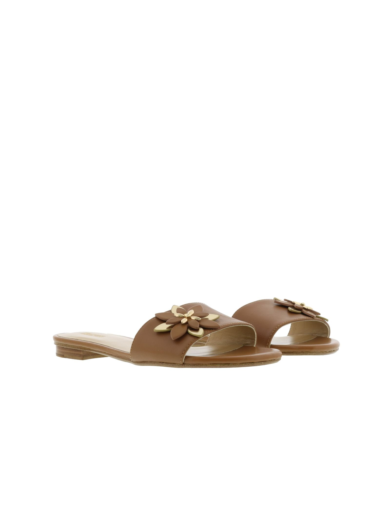 michael kors female michael kors heidi flat sandals