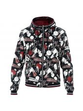Musical Instrument Print Windbreaker