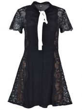 For Love & Lemons Embroidered Lace Dress