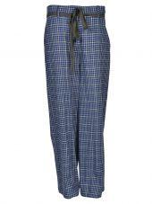 Hache Plaid Trousers