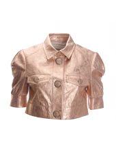 Drome Pink Crop Jacket