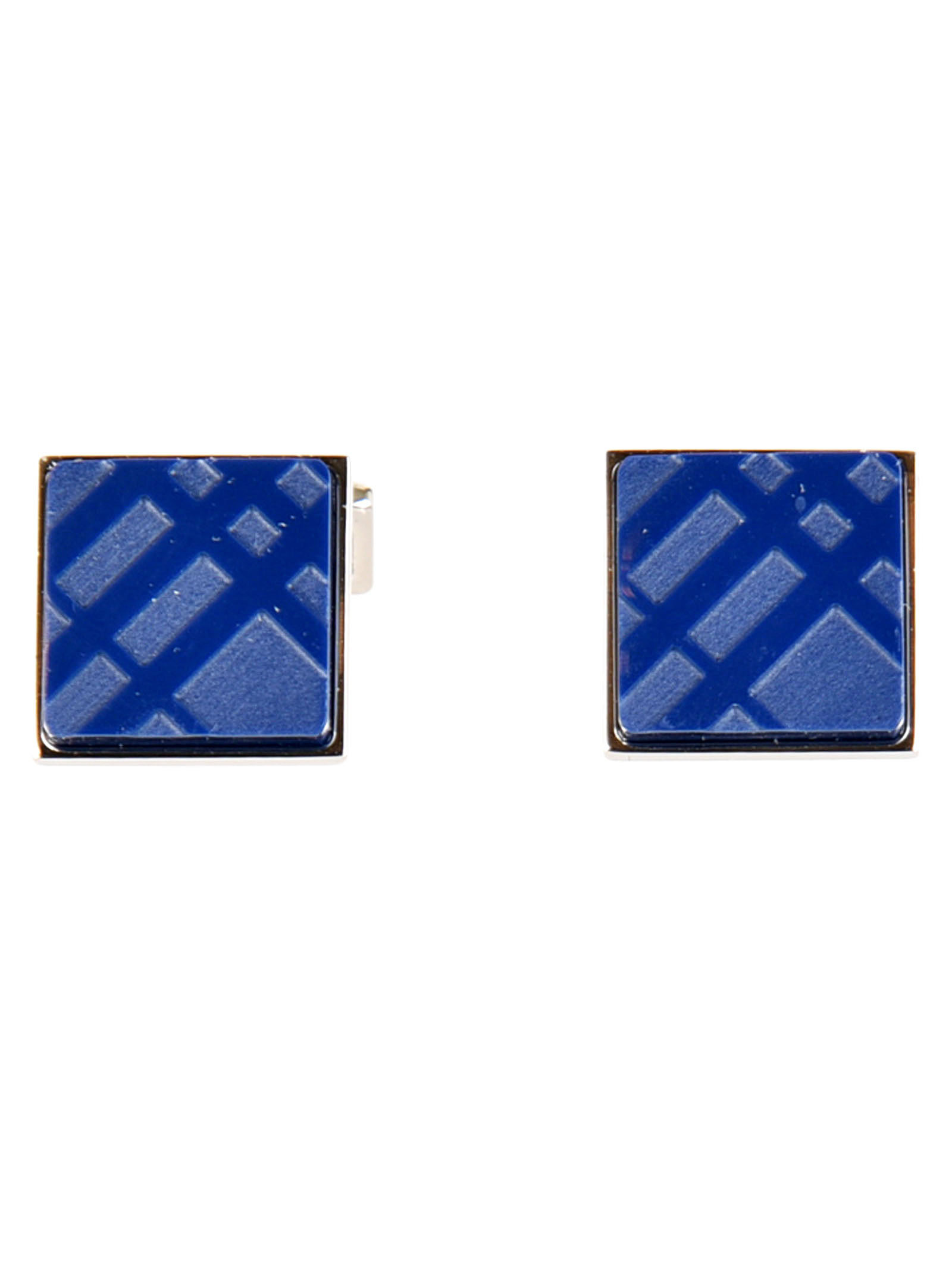 Burberry Checked Cufflinks