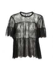 Philosophy Di Lorenzo Serafini Lace Sheer Blouse