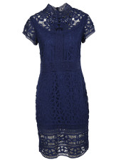 Sea Lace Midi Dress