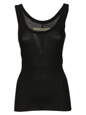 Enza Costa Rib Fitted Bold Tank Top