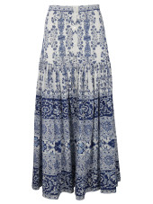 Sea Liberty Maxi Skirt