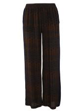 Gold Hawk Ikat Trousers