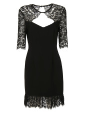 Rachel Zoe Claudia Lace Trim Dress