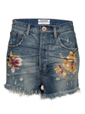 One Teaspoon Orchid Outlaws Shorts