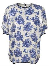 Victoria Beckham Floral Print Top