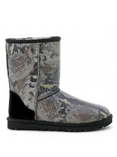 Ugg Mod. Classic Short Python Printed Ankle Boots
