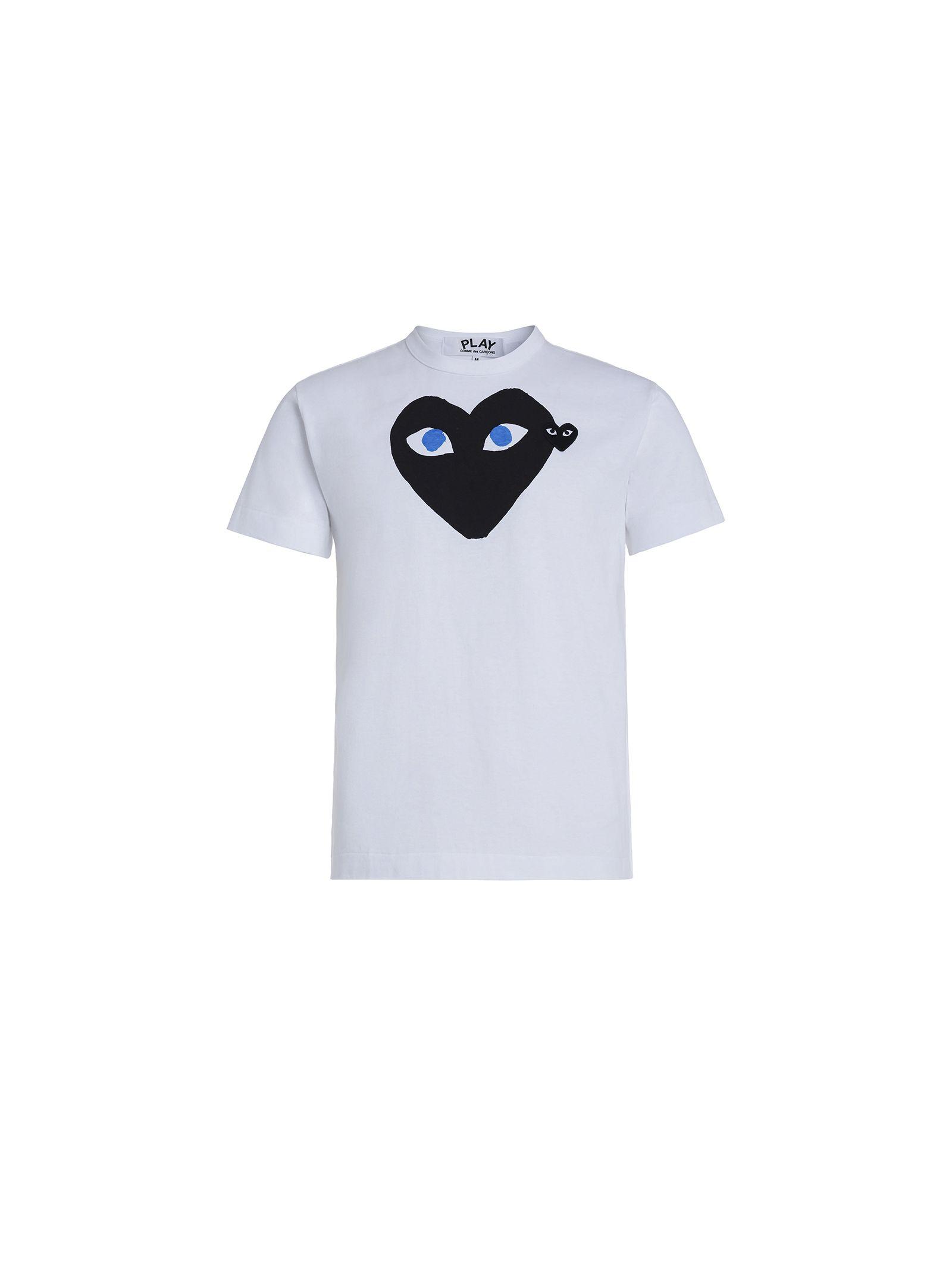 Tricou de damă COMME DES GARCONS PLAY Black Heart