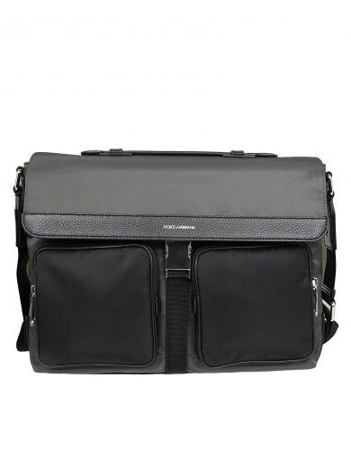 DOLCE & GABBANA Dolce & Gabbana Flap Shoulder Bag
