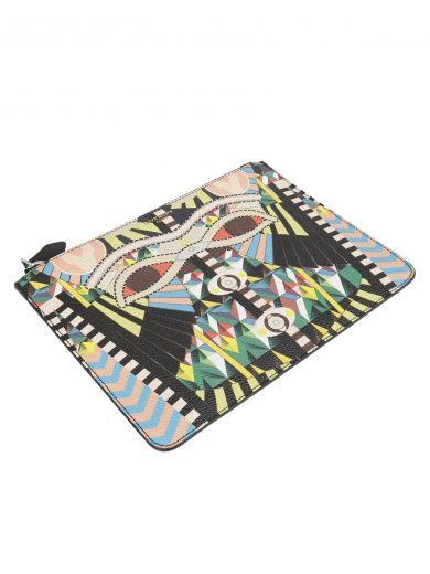 GIVENCHY Givenchy Patchwork Clutch