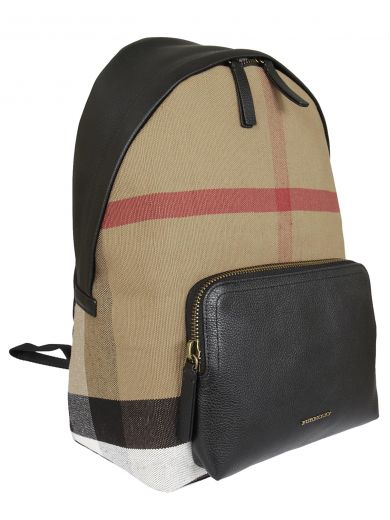 BURBERRY Burberry Checked Backpack