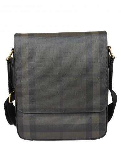 BURBERRY Burberry Checked Shoulder Bag