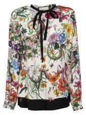Gucci Floral Snake Shirt