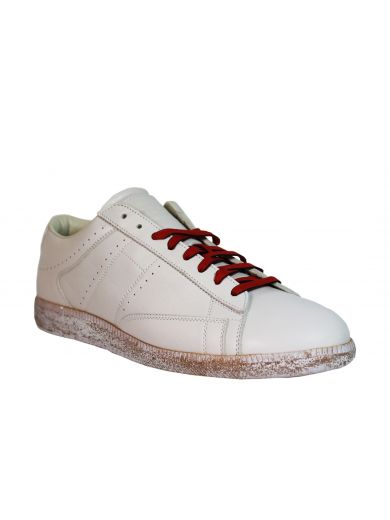 MAISON MARTIN MARGIELA Cream Ace Low Sneakers