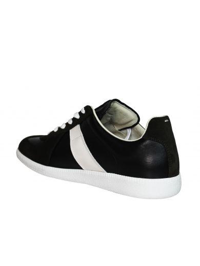 MAISON MARTIN MARGIELA Brown Replica Low Sneakers