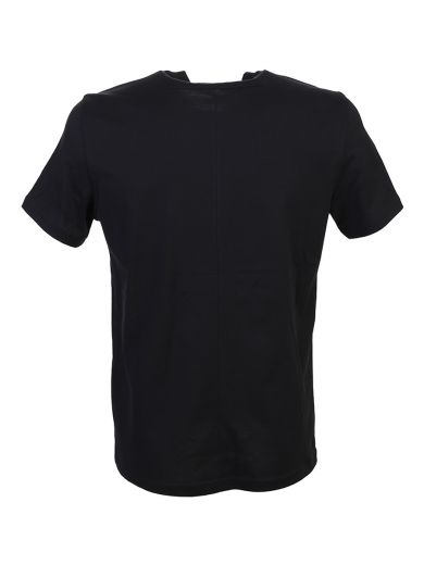 GIVENCHY Tongue-Twister Print Black Cotton T-Shirt