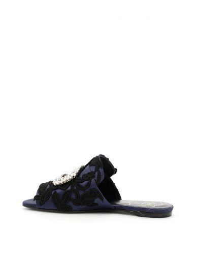ROGER VIVIER Rabat Slippers