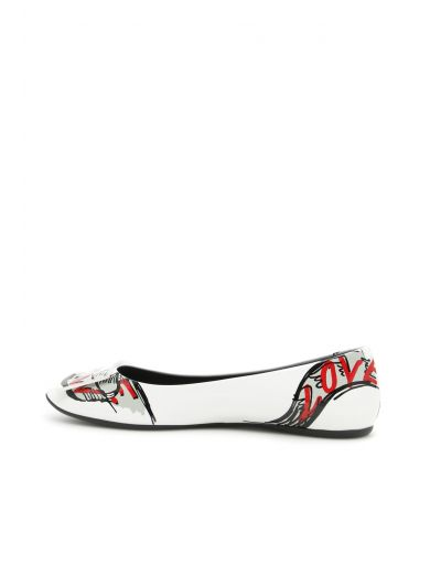 ROGER VIVIER Love Tattoo Ballerinas