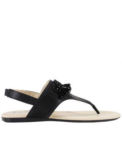 HOGAN Flat Sandals Shoes Women Hogan