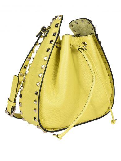 VALENTINO Valentino Garavani Rockstud Bucket Bag