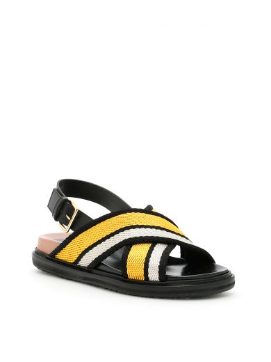 MARNI Fussbett Sandals at Italist.com
