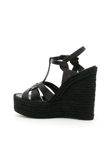 SAINT LAURENT Wedge Sandals