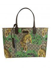 Gucci Gucci Bengal Gg Supreme Print Tote