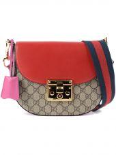 Gucci Gg Supreme Padlock Bag