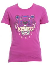 T-shirt In Cotone Rosa