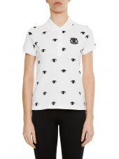 Eye Print Polo Shirt