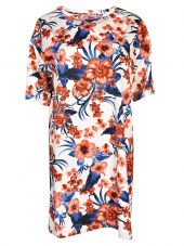 Fausto Puglisi Floral Oversized T-shirt