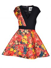 Fausto Puglisi Floral Flared Dress