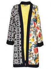 Fausto Puglisi Floral Print Cardi-coat