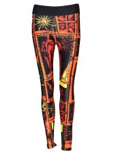 Fausto Puglisi Printed Leggings