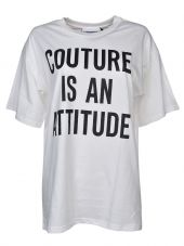 Moschino Printed Loose Fit T-shirt