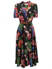 Valentino Tropical Dream Print Dress