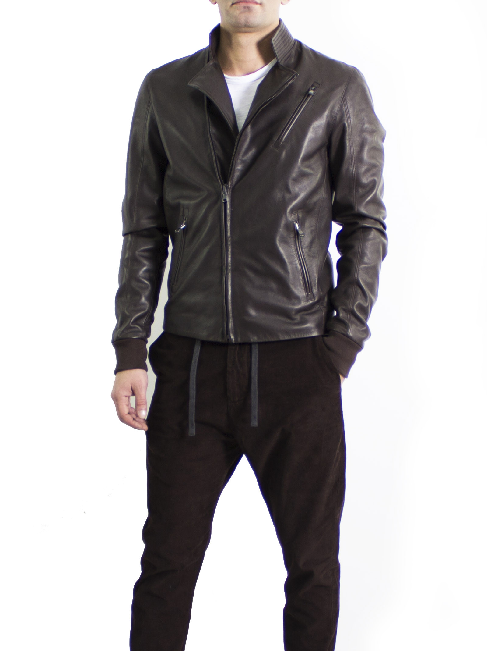 Leather Collection Biker Jacket