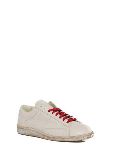 MAISON MARTIN MARGIELA Cream Ace Low Sneakers