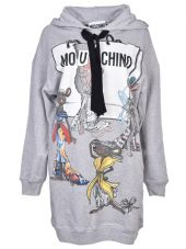 Moschino Stella Mccartney Rat-a-porter Hoodie Dress